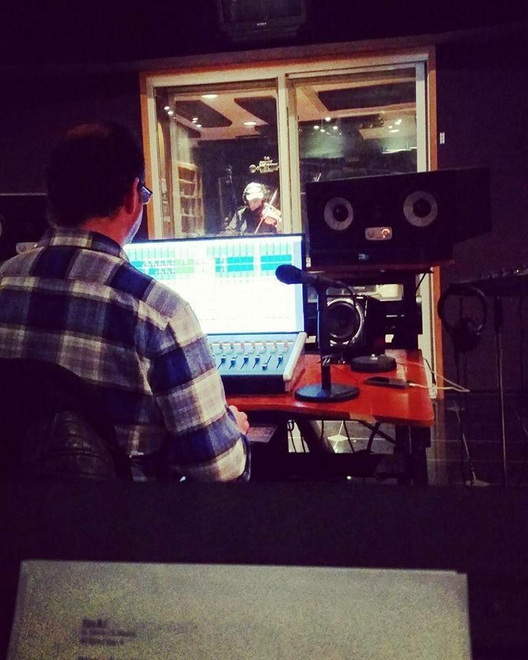 Andre Proulx Recording Violins