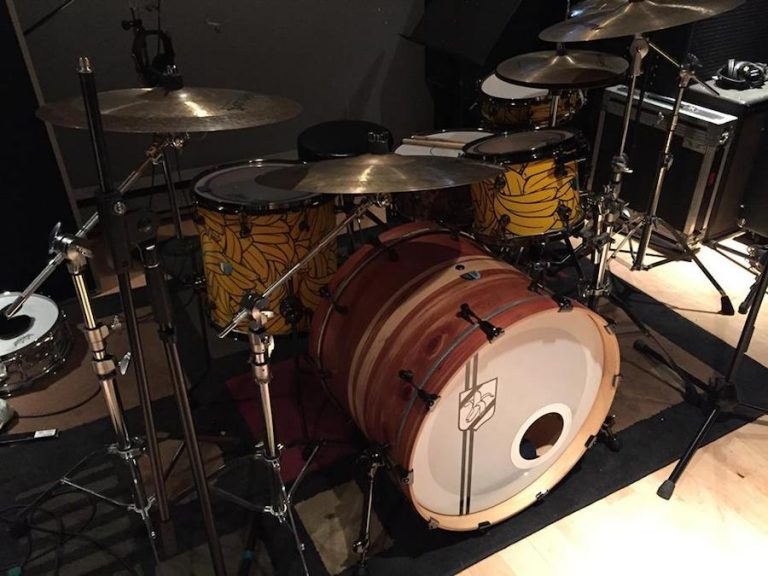 Francois Mathieu's Vaudou Drums custom kit
