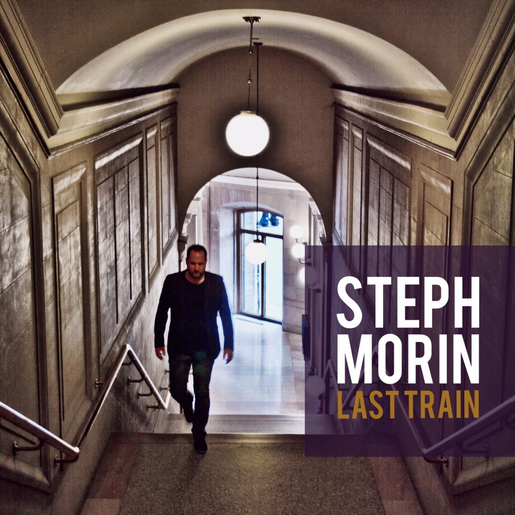 Steph Morin Last Train Single Cover