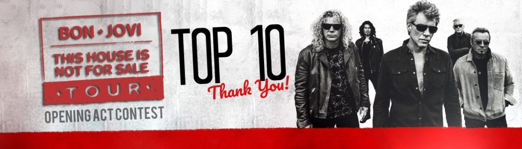 Bon jovi opening act contest montreal top 10