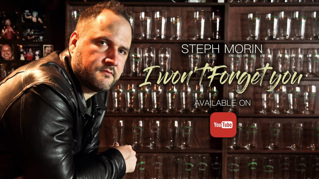 Steph Morin I Won't Forget You video available on Youtube