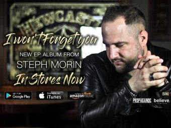 OUT NOW! New EP album 'I Won't Forget You' from Steph Morin