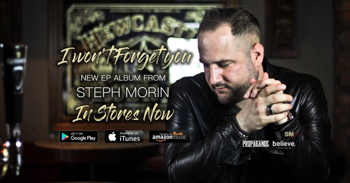 Steph Morin new EP album Out Now
