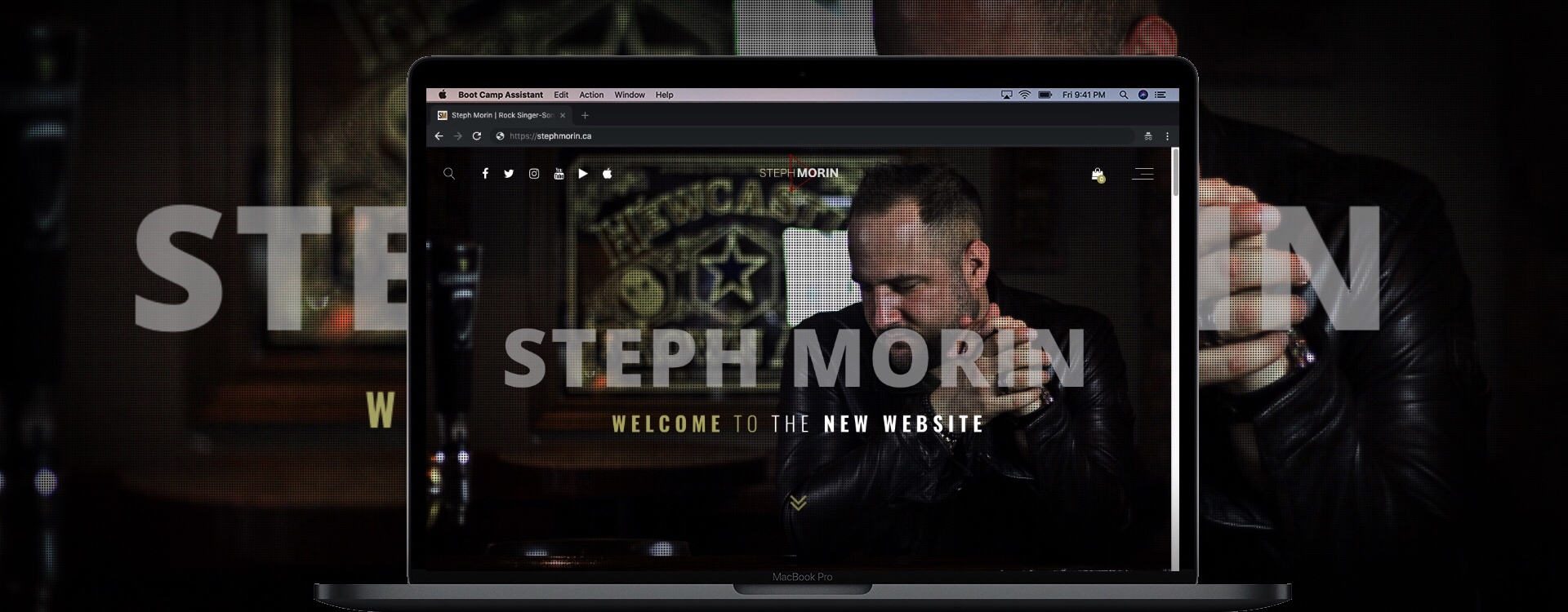 Steph Morin New Website Laptop Center