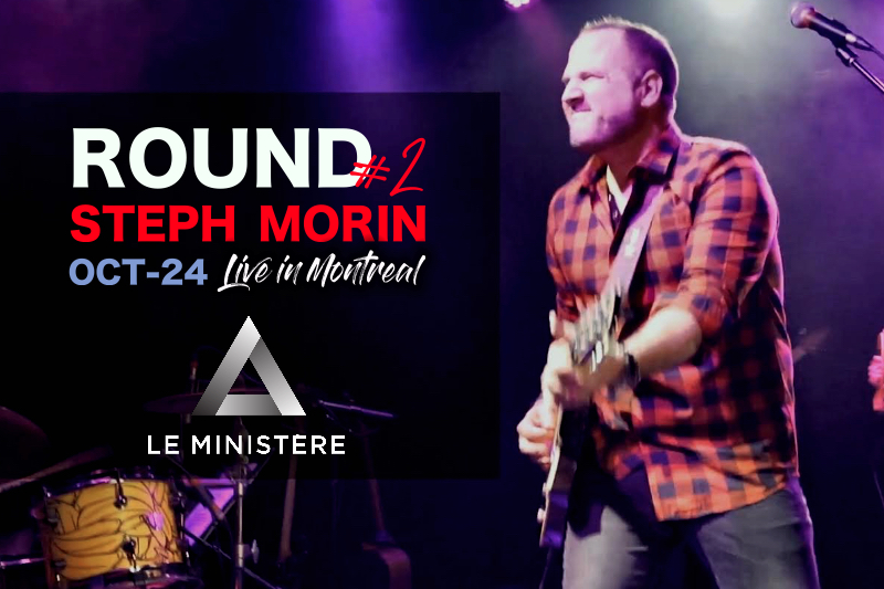 Steph Morin Live Montreal Oct 2019 le ministere event