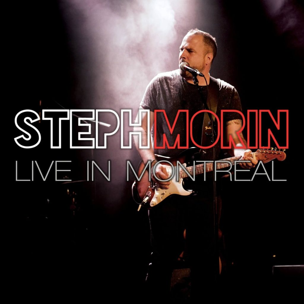 Steph Morin Live in Montreal Album Cover