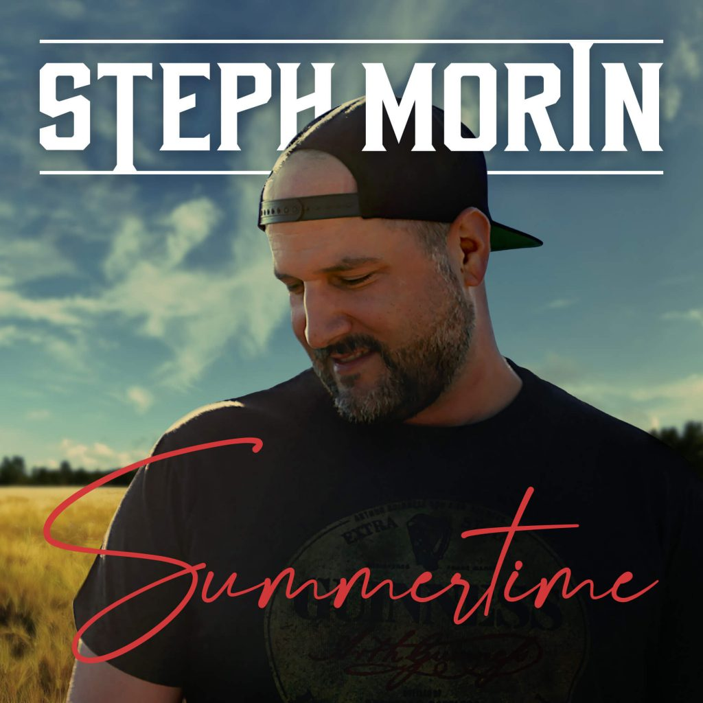 summertime by steph morin country music single cover